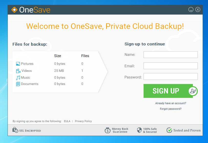 OneSave removal