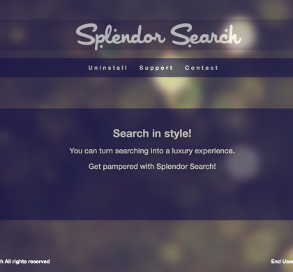 Splendor Search Removal