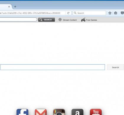 Crazytvsearch.com Removal