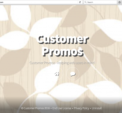 Customer Promos Removal