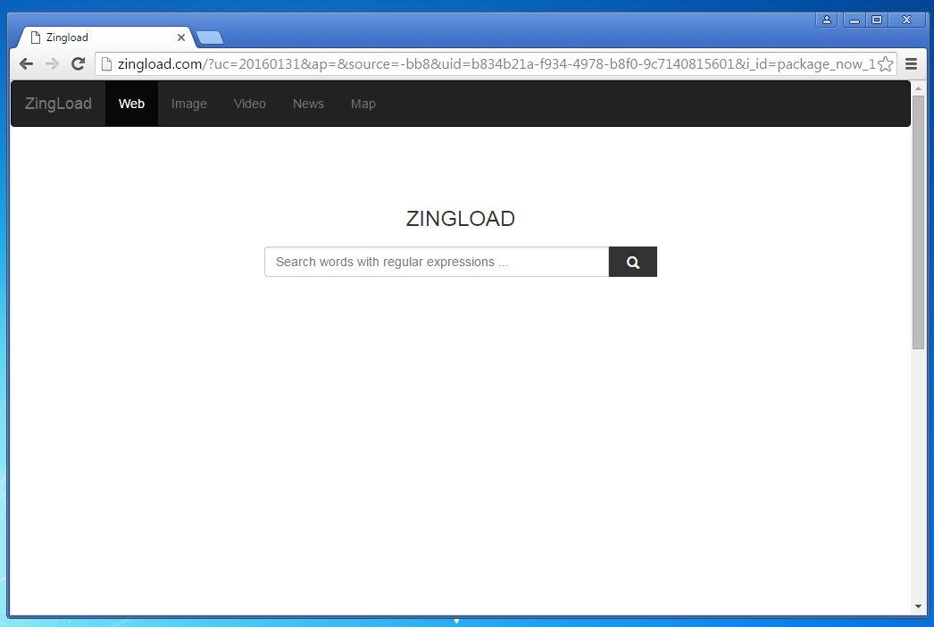 Zingload.com Removal