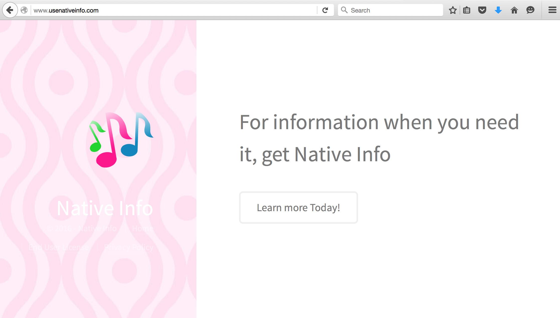 Native Info Removal